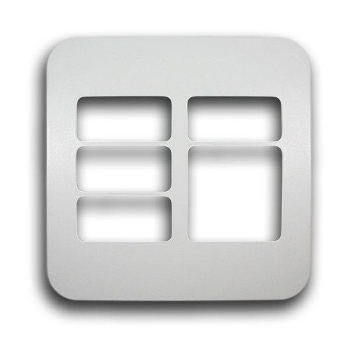 MAJOR-TECH VETI 4X4 5 MODULE COVER PLATE CODE: V6209WT