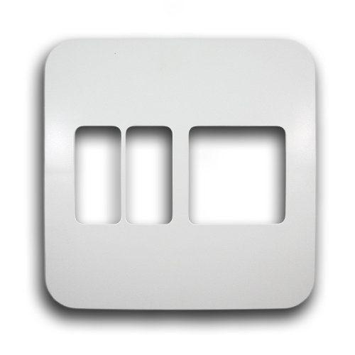 MAJOR-TECH VETI 4X4 3 LEVER VERTICAL COVER PLATE CODE: V6205WT