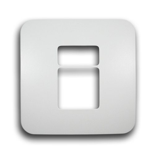 MAJOR-TECH VETI 4X4 2 MODULE COVER PLATE CODE: V6202WT