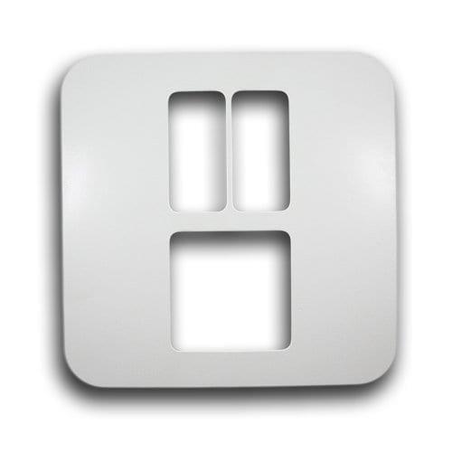 MAJOR-TECH VETI 4X4 3 LEVER HORIZONTAL COVER PLATE CODE: V6204WT