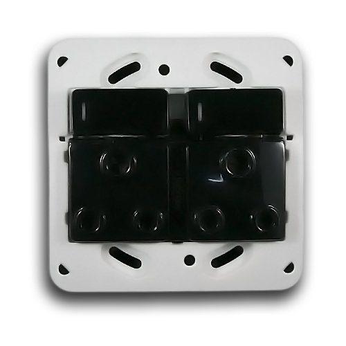 MAJOR-TECH VETI 4X4 RSA DOUBLE SOCKET MODULE CODE: VG22BLK