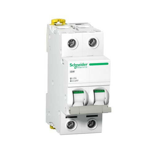 SCHNEIDER 2 POLE 63AMP ISOLATOR