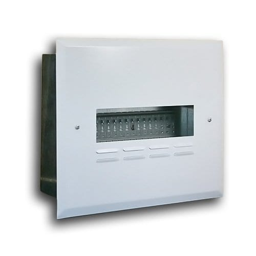FLUSH SAMITE RAIL + TRAY DISTRIBUTION BOARD