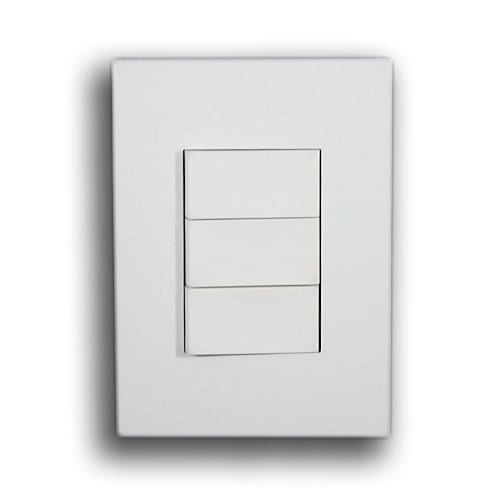 LEGRAND 2X4 3 LEVER SWITCH