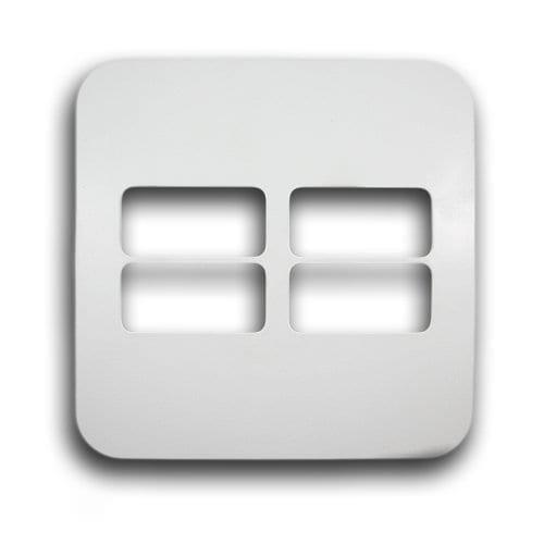 MAJOR-TECH VETI 4X4 4 LEVER HORIZONTAL COVER PLATE CODE: V6206WT