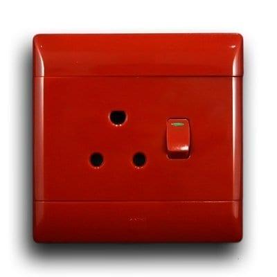 CBI 4X4 RED SINGLE SOCKET