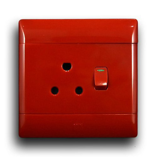 CBI 4X4 RED SINGLE SOCKET