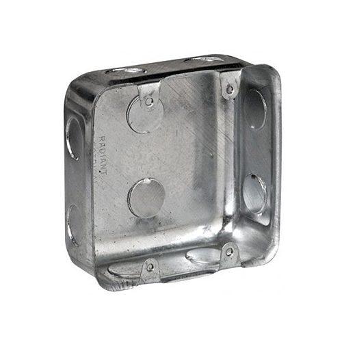 100MMx100MM STEEL WALL BOX