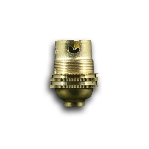 BRASS BC 10MM ENTRY LAMP HOLDER