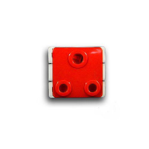 MAJOR-TECH VETI 16A RED SOCKET MODULE