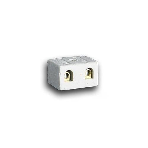 2 WAY 6A PORCELAIN CONNECTOR
