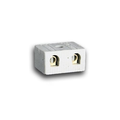2 WAY 15A PORCELAIN CONNECTOR