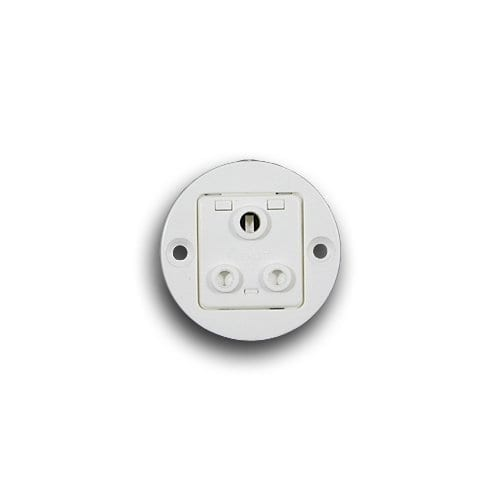 CRABTREE 5A ROUND SSO CONDUIT BOX