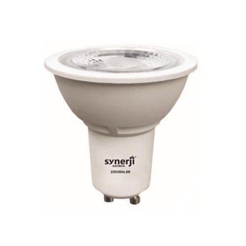 SYNERJI 6.5W GU10 DAYLIGHT LED