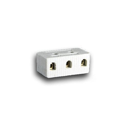 3 WAY 6A PORCELAIN CONNECTOR
