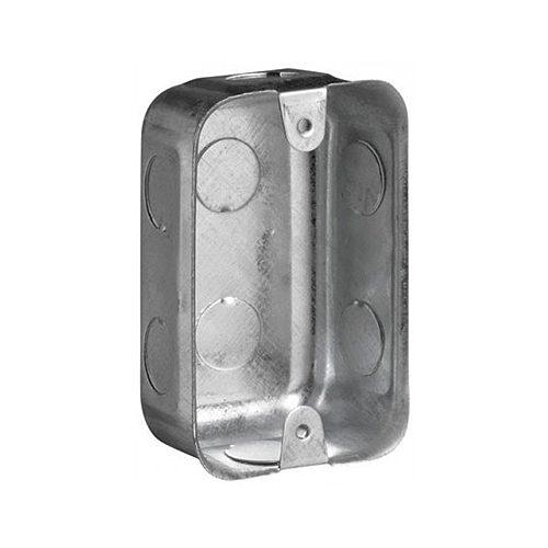 50MM X 100MM STEEL WALL BOX