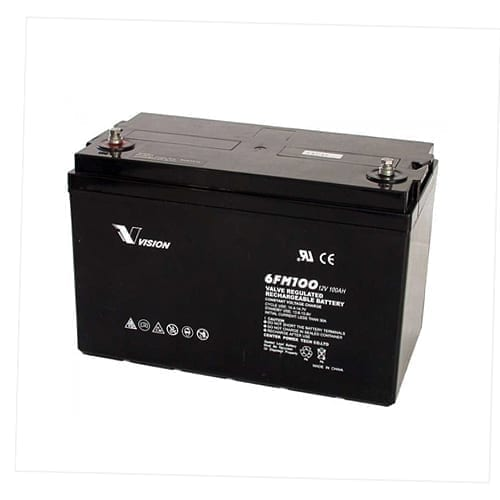 VISION 100AH 12V AGM BATTERY