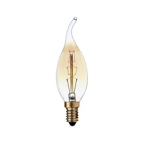 BRIGHT STAR 40W SES WARM WHITE CARBON FILAMENT