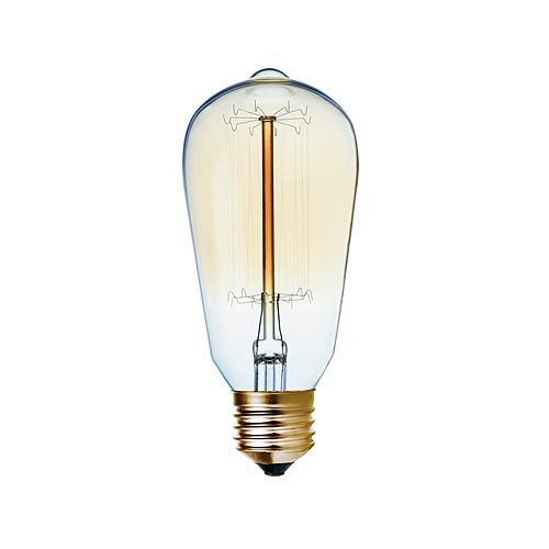 BRIGHT STAR 60W E27 WARM WHITE CARBON FILAMENT
