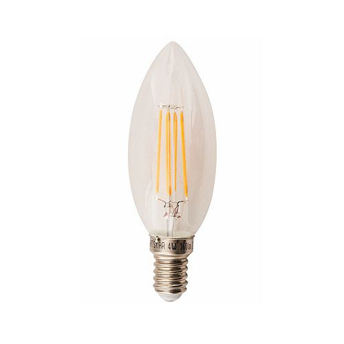 BRIGHT STAR 4W SES WARM WHITE LED CANDLE