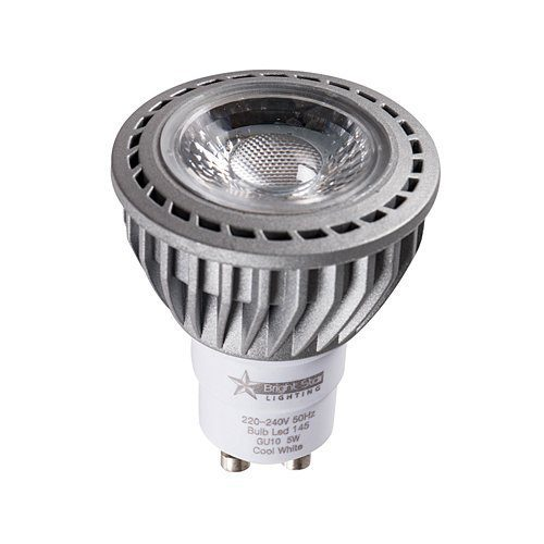 BRIGHT STAR DIMMABLE 5W GU10 COOL WHITE LED