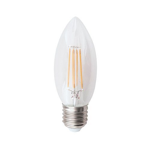 BRIGHT STAR 4.5W E27 WARM WHITE LED CANDLE