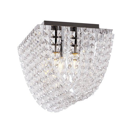 BRIGHT STAR CF643/3 CHROME/CRYSTAL