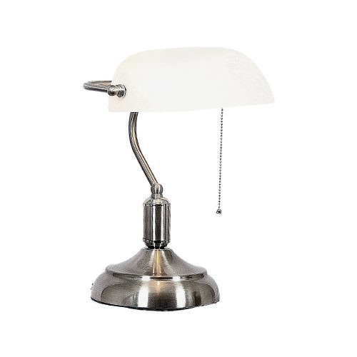 BRIGHT STAR TL021 WHITE BANKERS LAMP