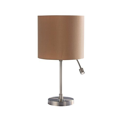 BRIGHT STAR LAMP TL028 CHROME/BEIGE