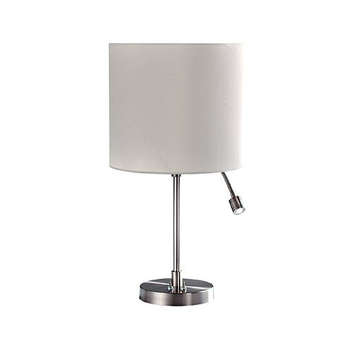 BRIGHT STAR LAMP TL028 CHROME/CREAM