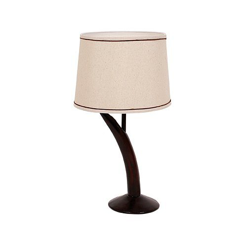 BRIGHT STAR LAMP TL067 BROWN/HESSIAN