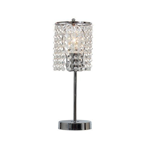 BRIGHT STAR LAMP TL812 CHROME/CRYSTAL