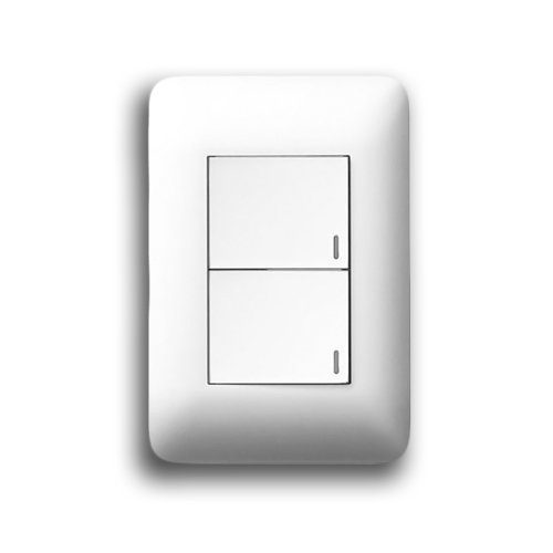 LEGRAND YSALIS 2X4 2 LEVER SWITCH PY224WHT
