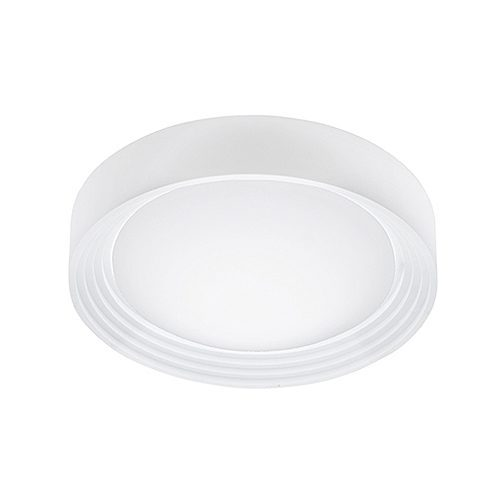 EUROLUX C184 ONTANEDAL WHITE CEILING LIGHT.