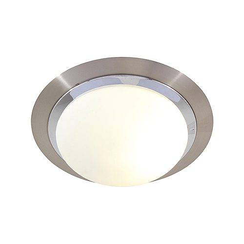 EUROLUX C250SC SATIN CHROME CEILING LIGHT