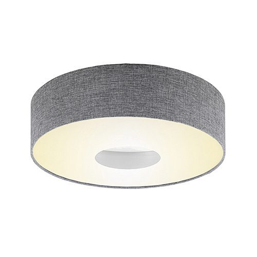 EUROLUX C253 ROMAO WHITE/GREY CEILING LIGHT