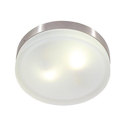 EUROLUX C267 SATIN CHROME CEILING LIGHT