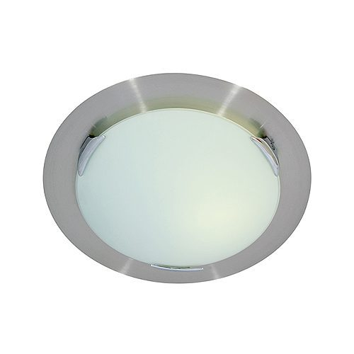 EUROLUX C268 SATIN CHROME CEILING LIGHT