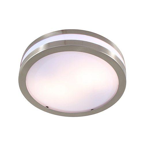 EUROLUX C339SC STAINLESS STEEL BATHROOM LIGHT