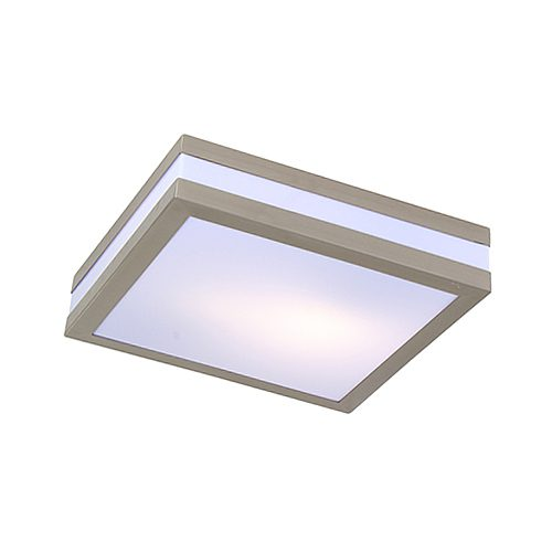 EUROLUX C340SC STAINLESS STEEL BATHROOM LIGHT