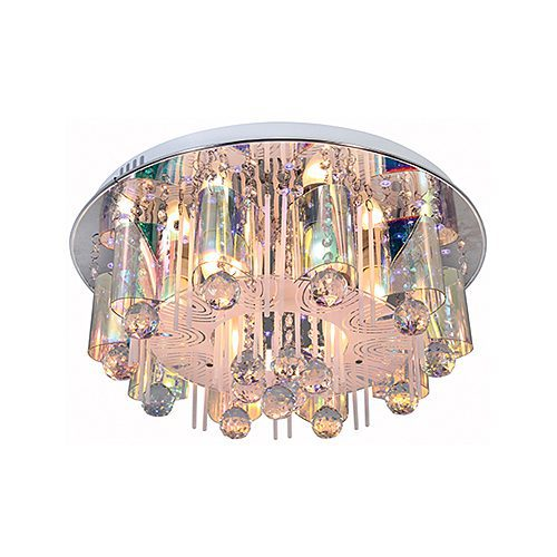 EUROLUX C416 ELE CHROME CEILING LIGHT