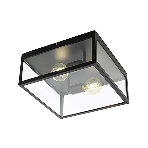 EUROLUX C471 CHARTERHOUSE BLACK CEILING LIGHT