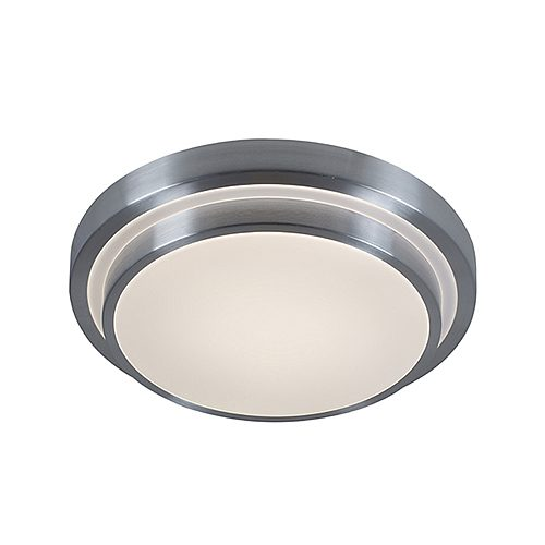 EUROLUX C549 SILVER TIERED CEILING LIGHT