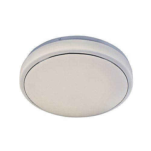 EUROLUX C552 SILVER RING CEILING LIGHT - 285MM
