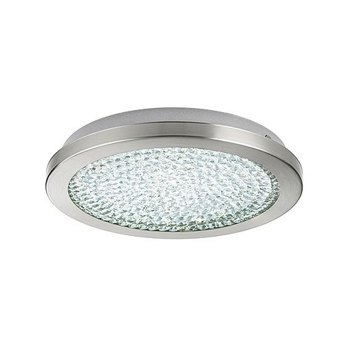 EUROLUX C568 AREZZO2 SATIN CHROME CEILING LIGHT