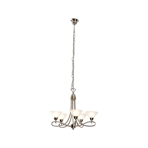 EUROLUX CH191SC MARTINI TWIST CHANDELIER