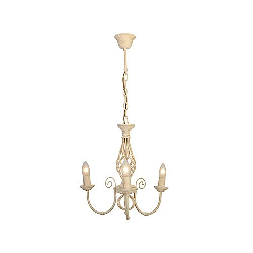EUROLUX CH238CR EMMA CREAM CHANDELIER