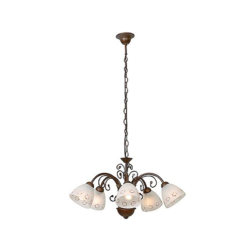 EUROLUX CH89 TUSCANY BROWN CHANDELIER