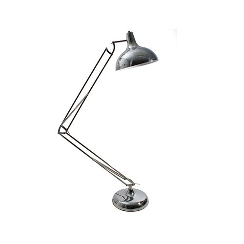 EUROLUX FL140SC LARGE ANGLE POISE CHROME LAMP