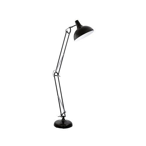 EUROLUX FL188B BORGILLIO METAL BLACK LAMP